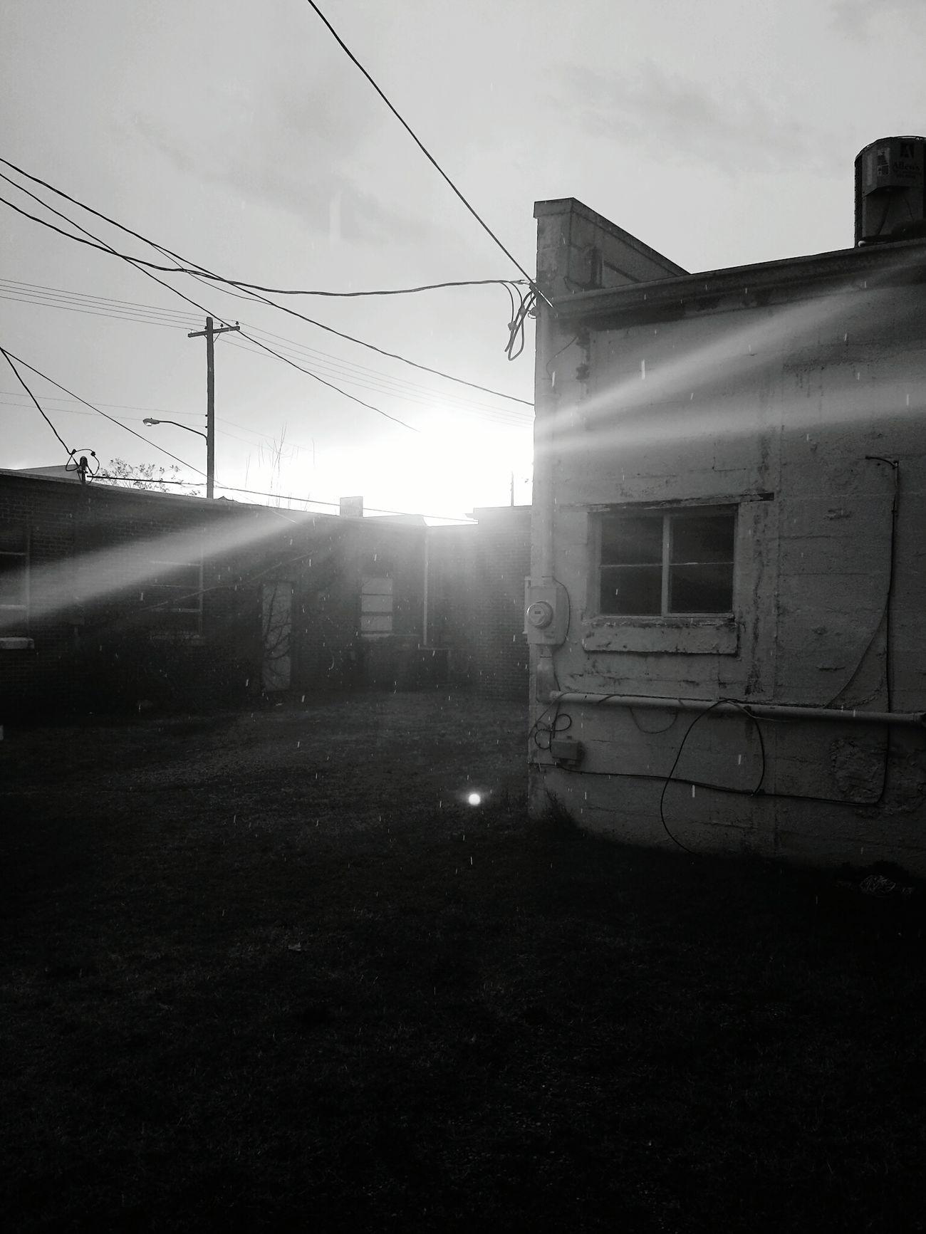 Blackandwhite Sunshine Rain