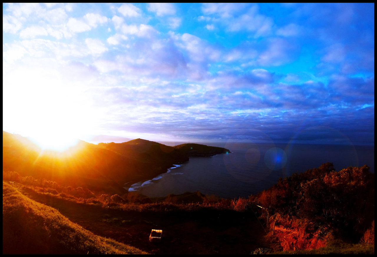 Azores Beauty In Nature Landscape Nature Sky Sunset Tranquil Scene Tranquility