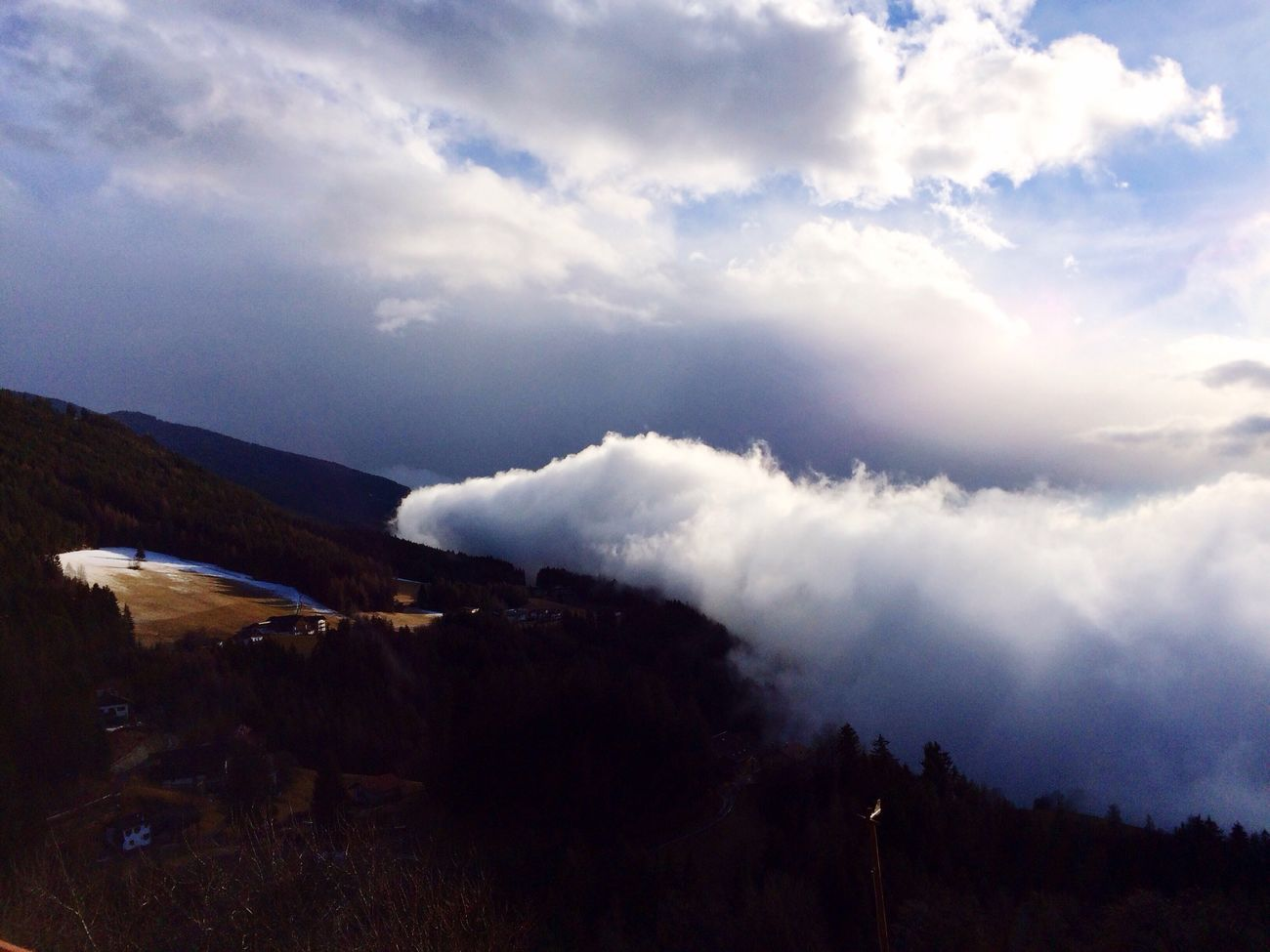 Beauty In Nature Brixen  Cloud - Sky Dolomites Dolomites, Italy Italia Italy Mountain Nature Outdoors Power In Nature Scenics Sky Tranquil Scene
