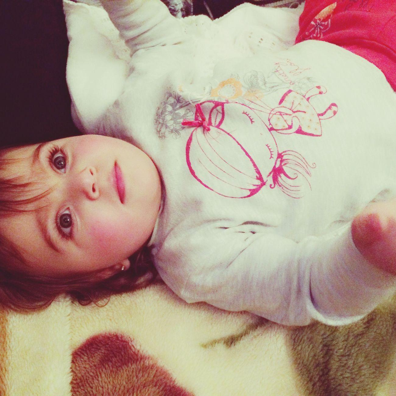 Niece  😻 I Love Her <3 Taking Photos Enjoying Life Hanging Out Baby Sitting Blonde Hair Blue Eyes. 💙💋