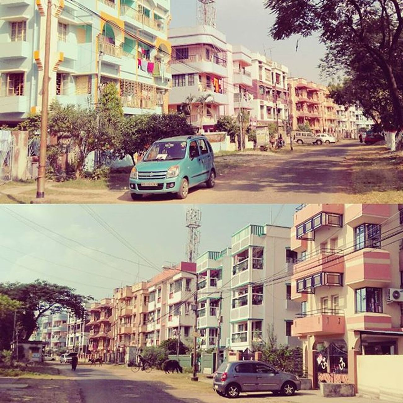 House Pair Duet Street