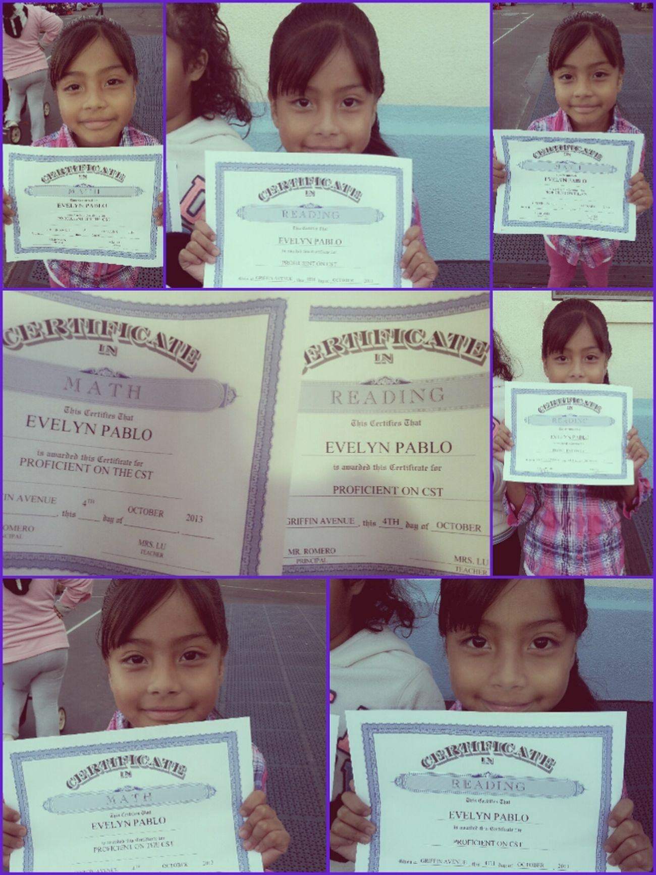 Proudmommy :) Happy Certificate Typical Schoolday ❤