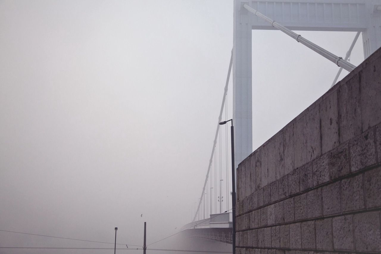 The Magic Mission the bridge to nowhere Mystery Bridge Foggy Day Mysterious Weather Architecture Built Structure Connection Low Angle View Bridge - Man Made Structure Copy Space Engineering Suspension Bridge Day High Section Outdoors Modern Sky Architectural Feature Steel Cable No People Sea Embrace Urban Life Miles Away The Architect - 2017 EyeEm Awards The Great Outdoors - 2017 EyeEm Awards Neighborhood Map