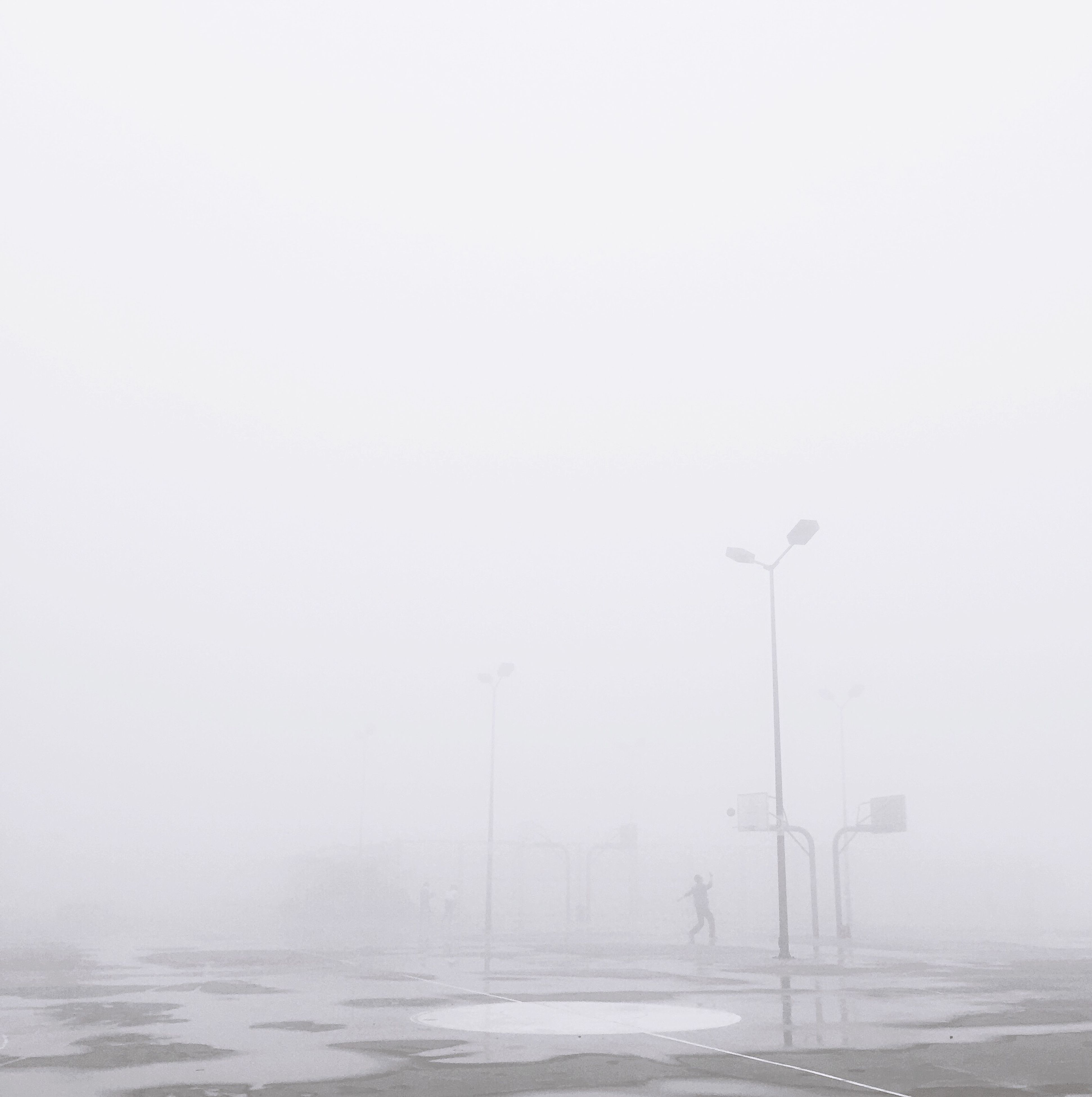 copy space, fog, water, nature, no people, outdoors, day, beauty in nature, sky