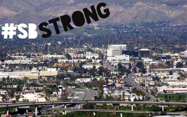 Support San Bernardino, NOFEAR. SBSTRONG