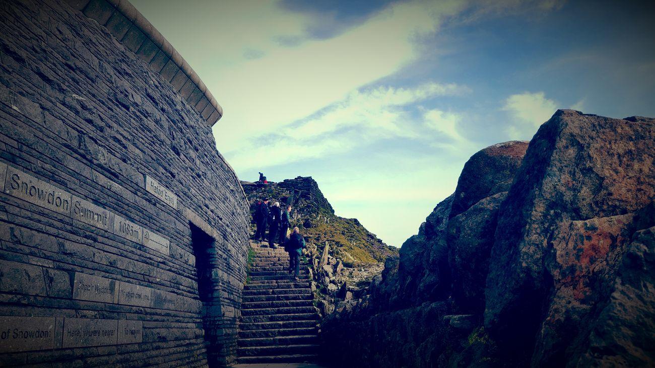 Sky Mountain Nature Beautyinnature  Adventure Hikingadventure Coldweather-Snowdonia,top Of The Wales,UK
