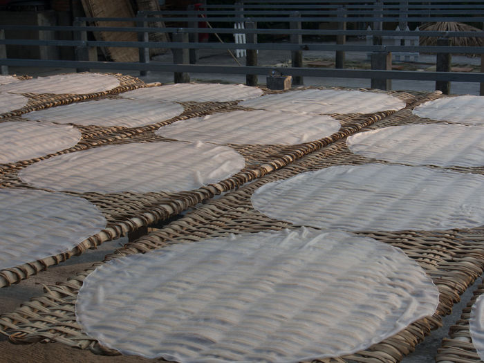 Architecture Built Structure Day Drying Noodles Factory No People Noodle Factor Outdoors Pattern