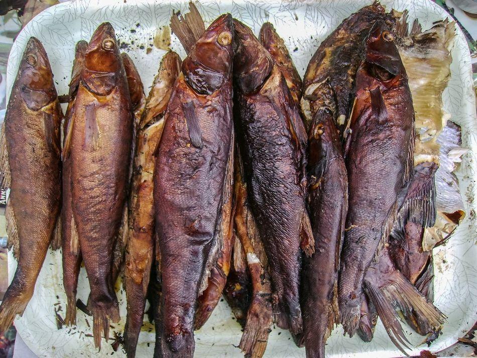 Food Smoked Fish Zander Smoked Zander Firefood Plate Fish