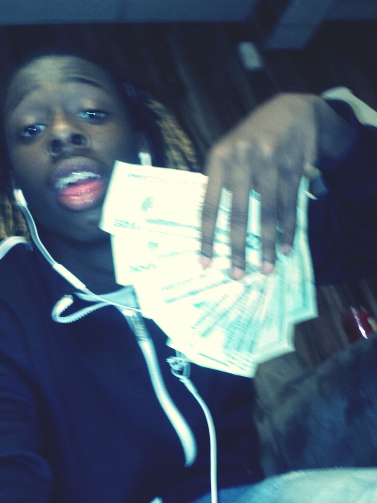 Ugly pic but I got #Bands and I know you see me