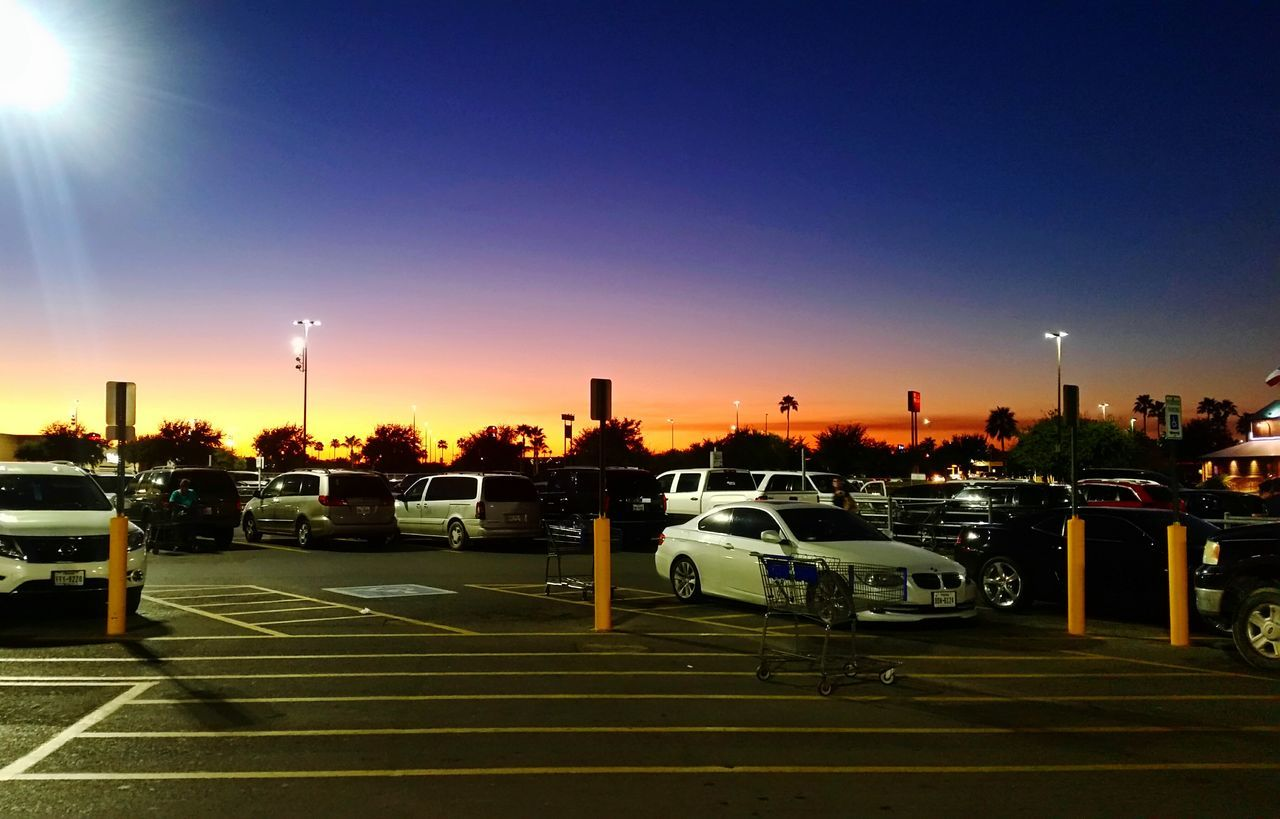 Parking Lot Parkinglot City Mcallen Texas Skyporn USA USAtrip