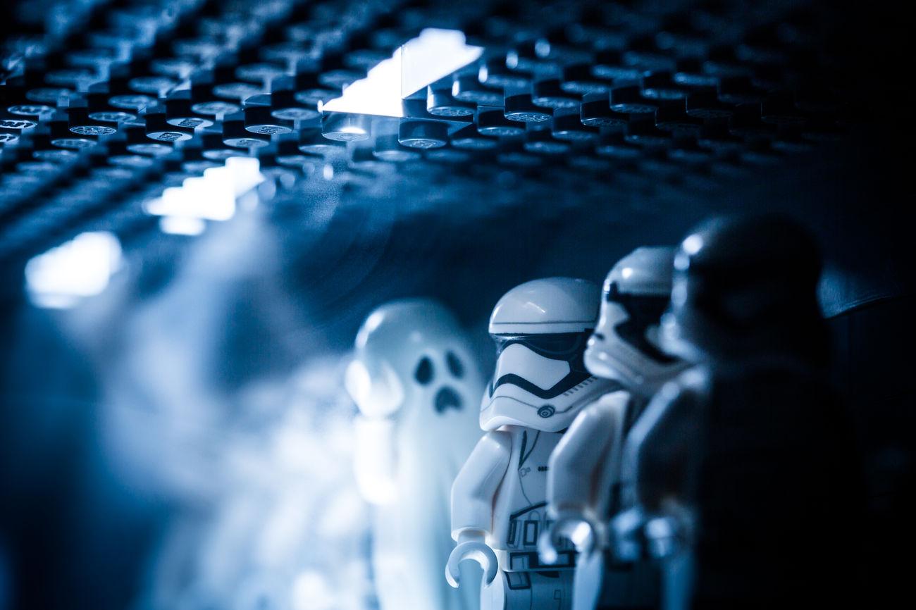 Halloween Starwars Legostarwars LEGO Legophotography Gohst The Force Awakens Starwarstheforceawakens Smoke Troopers