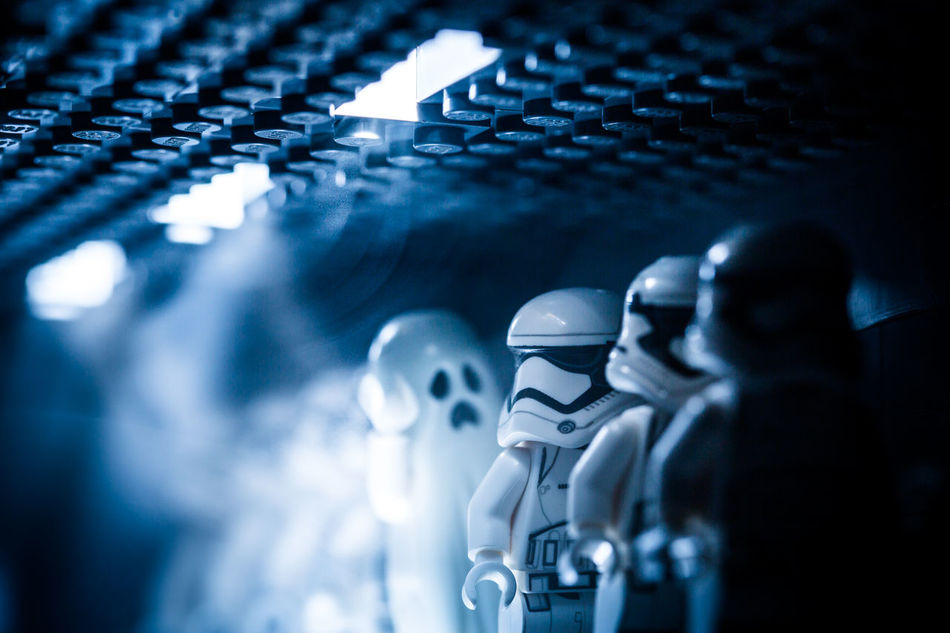 Halloween Starwars Legostarwars LEGO Legophotography Gohst The Force Awakens Starwarstheforceawakens Smoke Troopers