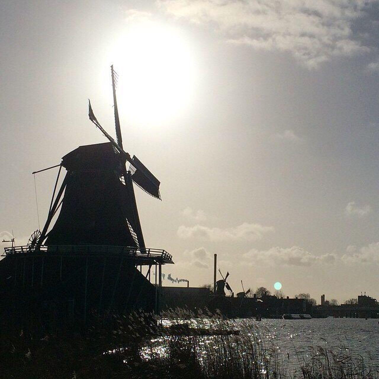 Alternative Energy Windmill Wind Power Wind Turbine Traditional Windmill First Eyeem Photo Travel Holland Windmills Village