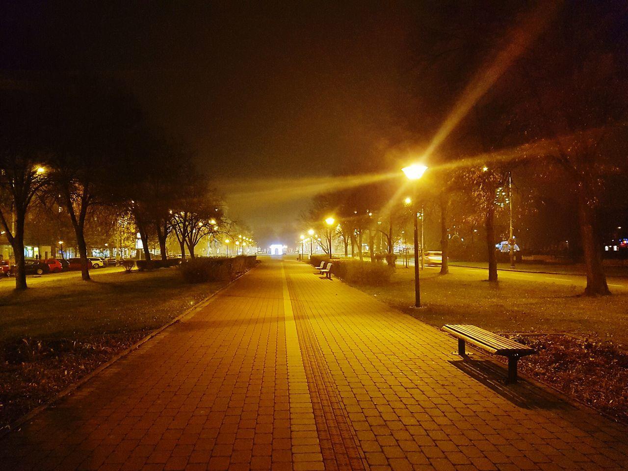Night Illuminated Sky No People Outdoors Nature Architecture Czech Republic🇨🇿 Ostrava Plaza Gate City Christmas Decoration Night Park