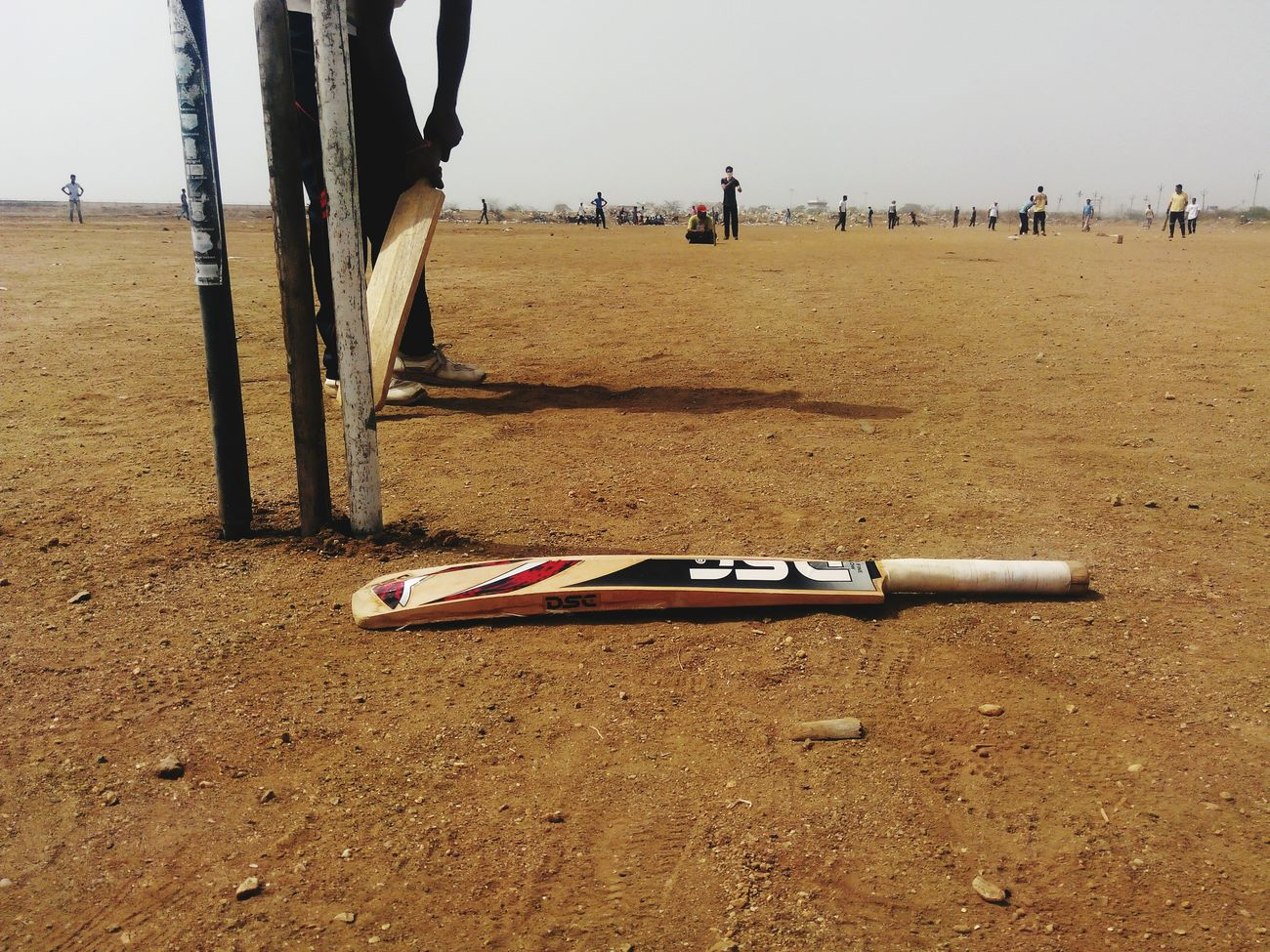 Watching Cricket mach bhavnagar town
