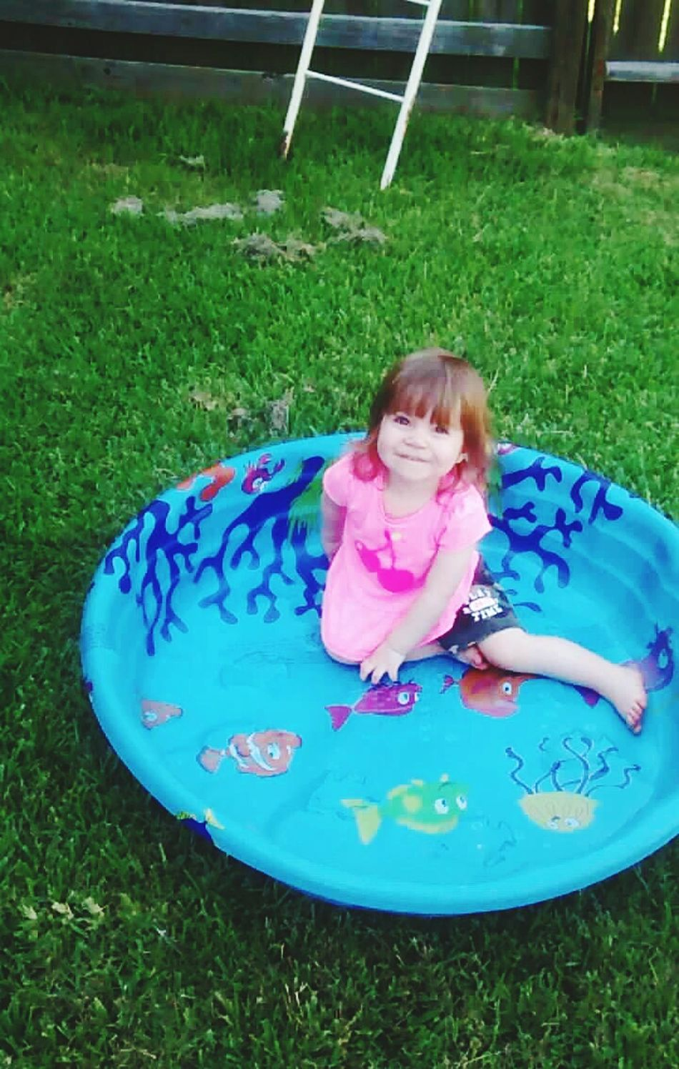 Daughter loving her pool. She loves pools, water, swimming, the sun, and being outside. Enjoying Life Cheese! Hi! Hello World Relaxing Check This Out First Eyeem Photo