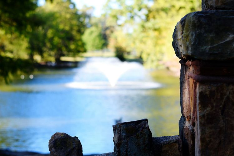 Water Summer Close-up Outdoors Travel Destinations Nature Connection Bridge - Man Made Structure Day Horizontal Motion Tree Beauty In Nature No People Waterfall