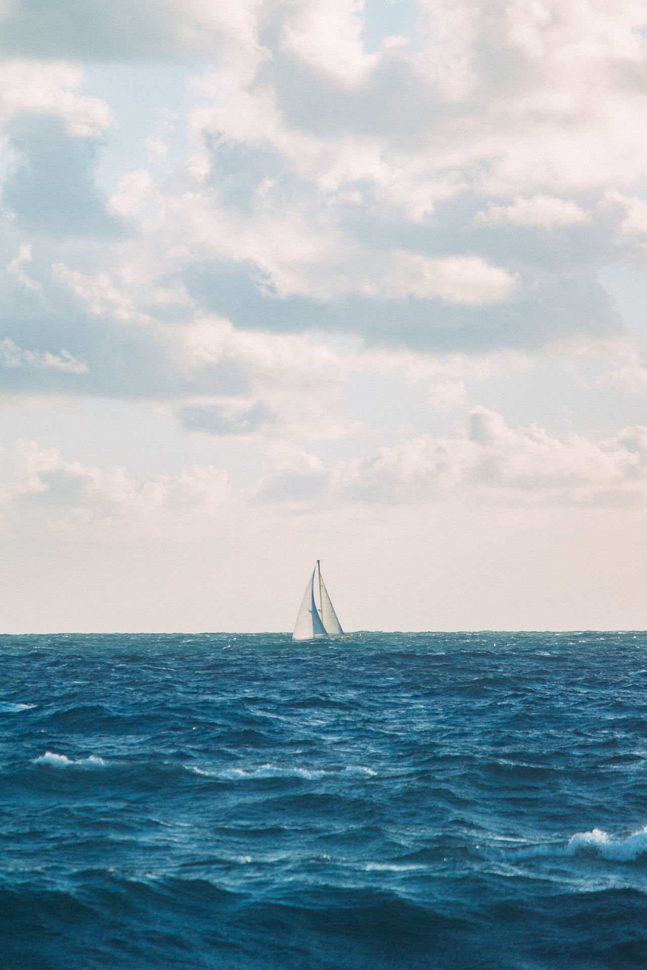 Florida Sailing Sea Nautical Vessel Sailing Travel Water Sky Outdoors Adventure Day No People Sailboat Vacations Nature Horizon Over Water