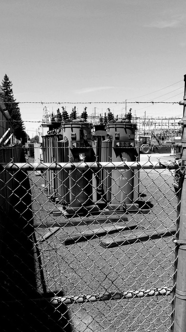 Electrical Transformers Power Station Out Of Service
