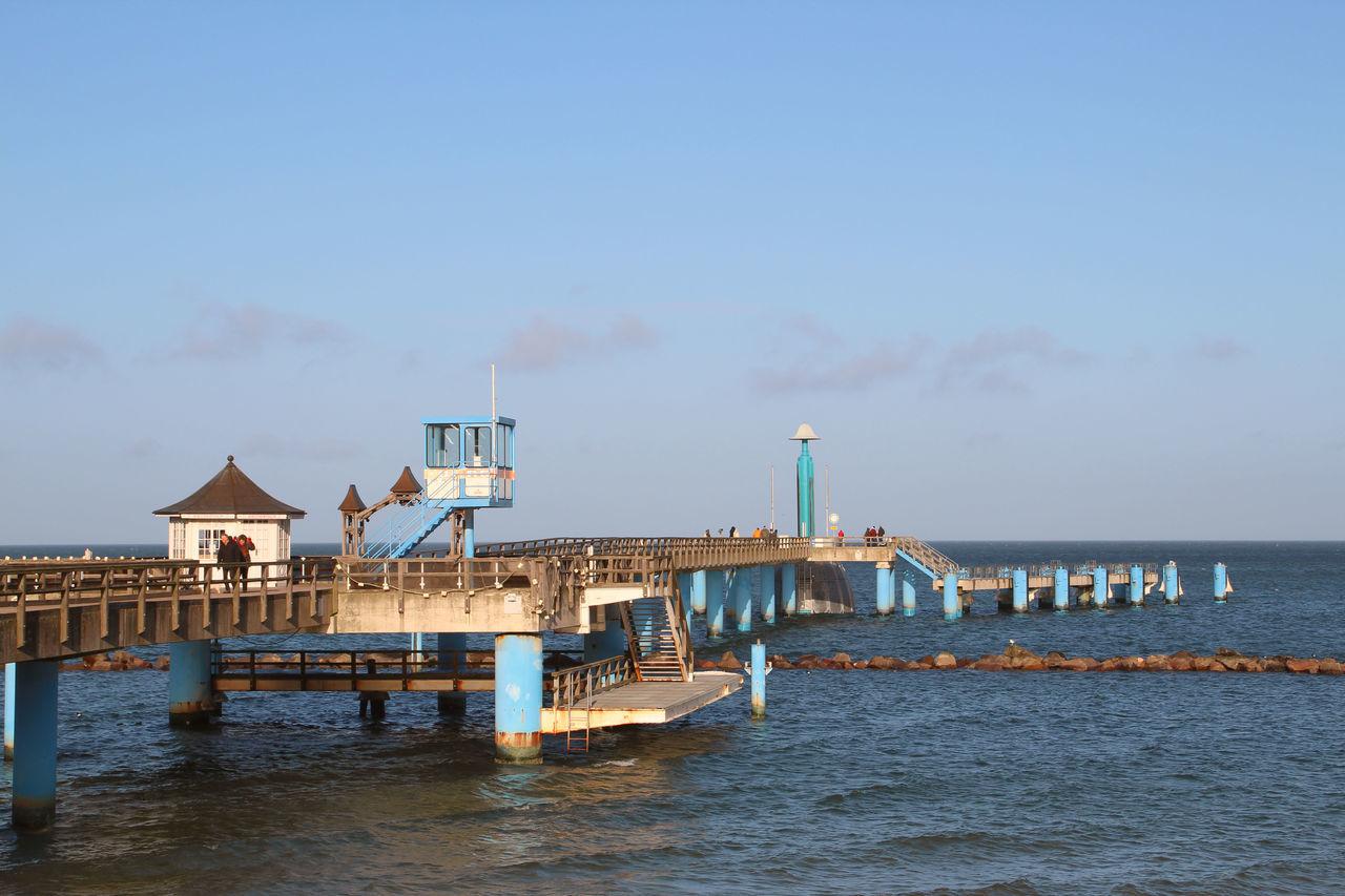 Sellin Pier Architecture Baltic Sea Blue Day Ocean Ostsee Ostseeküste Outdoors Pier Pier Scenics Sea Seebrücke Sellin Sky Water Waterfront