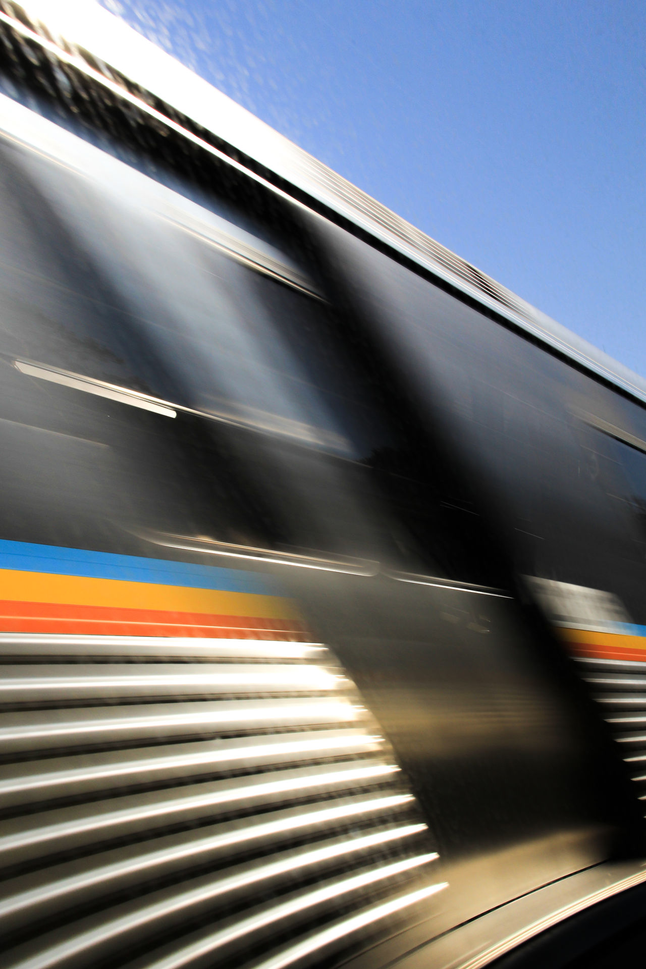 Beautiful stock photos of train, Blurred Motion, Clear Sky, Day, Mode Of Transport