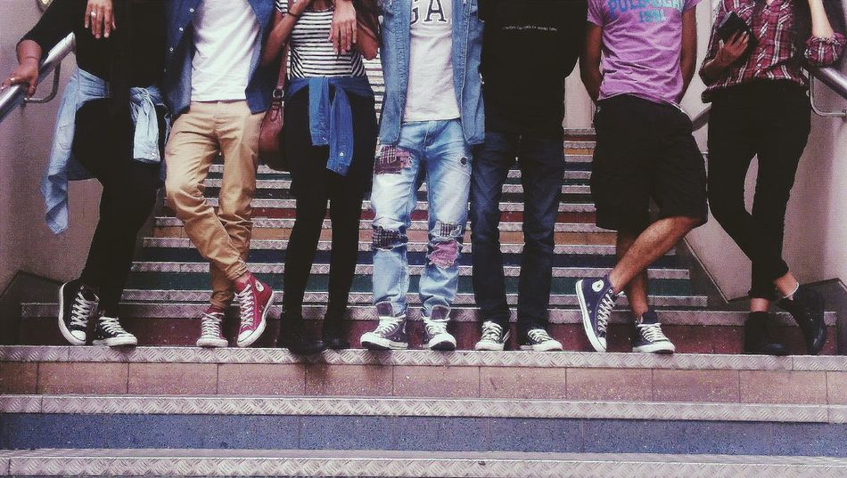 Friends Converse Style Streetstyle