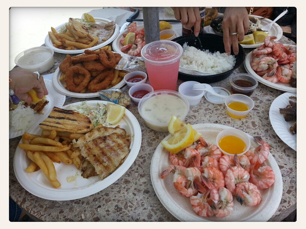 HC Seafood lunch@Oxnard