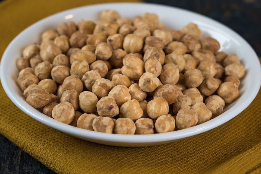 Roasted chickpeas Chick Chickpeas Close Up Food Food And Drink Garbanzo Garbanzo Beans Healthy Eating Isolated Legume Family Peas Protein Roasted