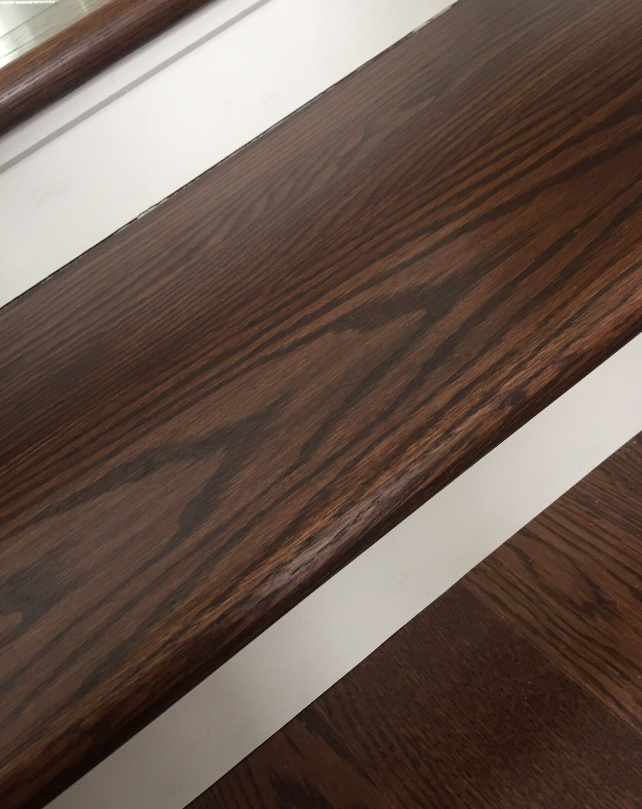 Stairs Wood White Lines Catching Up Well Organised Pattern Pieces Straight Lines Paint Wooden Texture Wood Finish Trend Construction Renovations