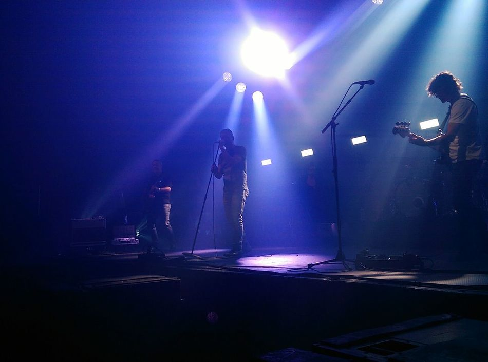 On Stage Light And Shadow Live Dutch Band ,Racoon