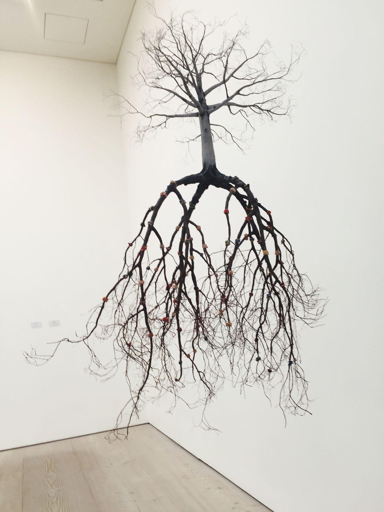 Saatchi Gallery London Art Tree Design Instalment 3D Object Talent Exhibition