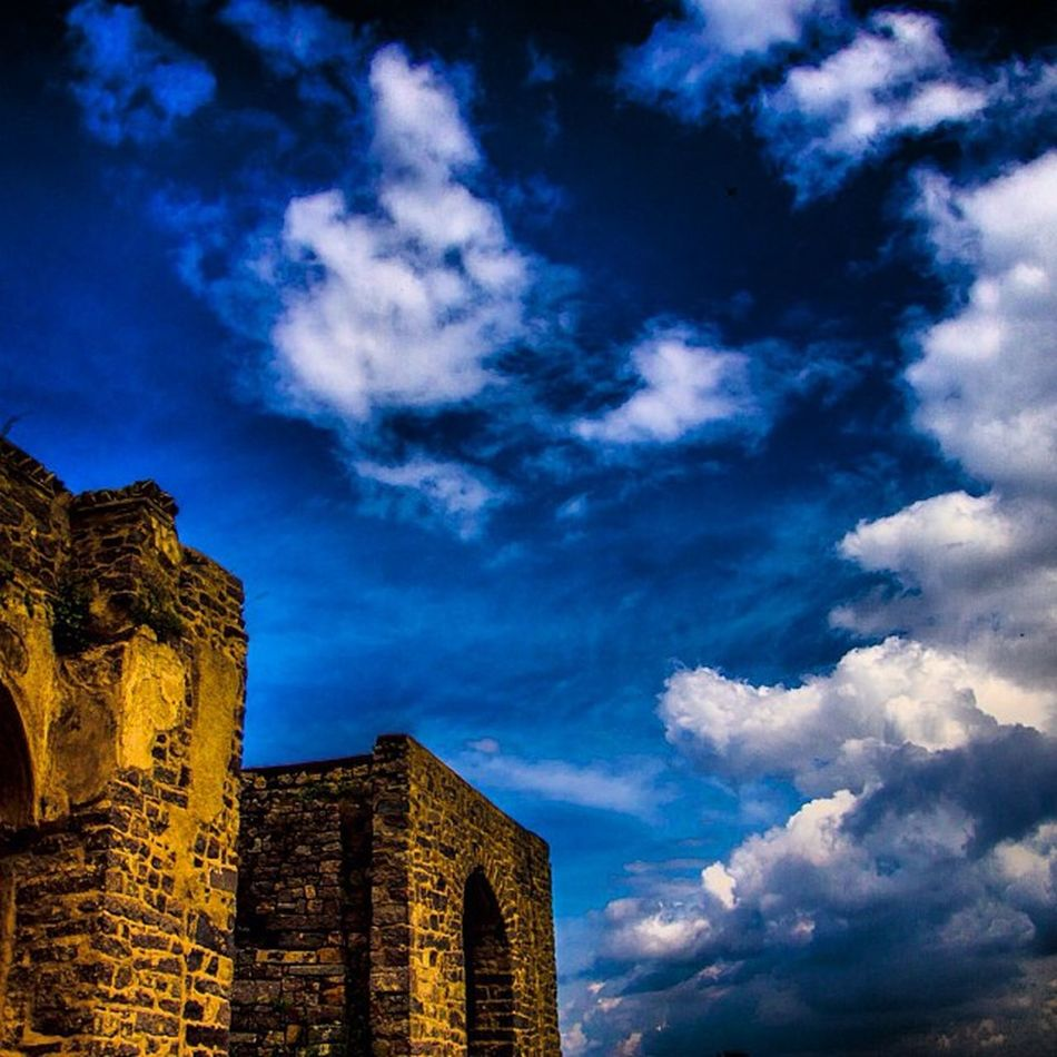 Blue Sky Clouds Golkonda in hyderabad ihithro picoftheday photooftheday bestoftheday imageoftheday nikon imagehub instago instagood instagram instamood instaplace