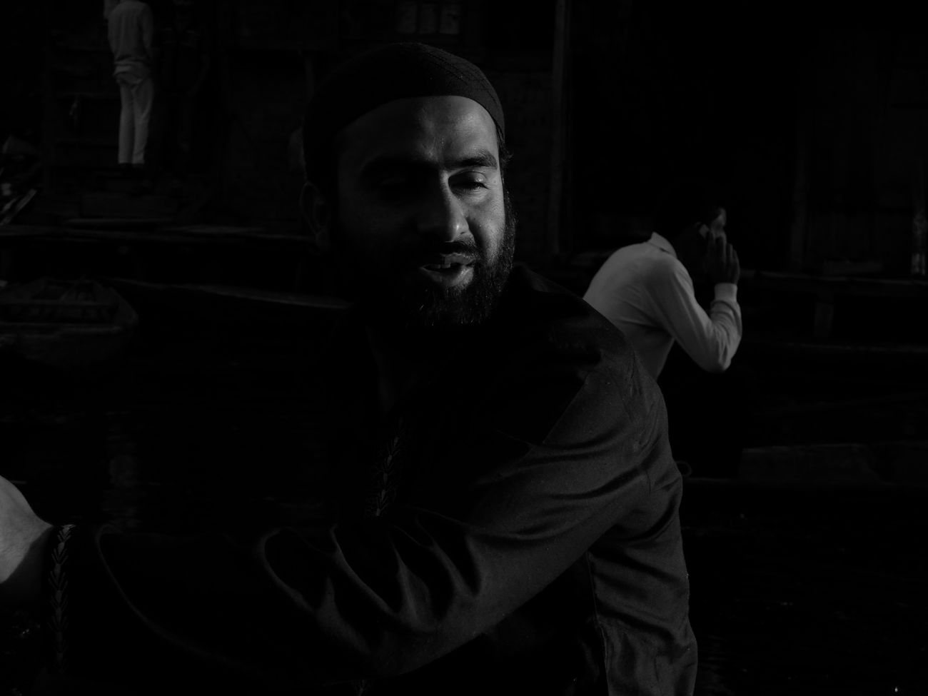 Adult Adults Only Beard Desaturated Human Body Part Human Hand Males  Men Night One Man Only One Person Only Men Outdoors People Portrait Real People Srinagar Kashmir Young Adult