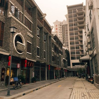 Old City Street Architecture Cultures A windy day-to visit the village of 端砚. So beautiful it is! I love it!🙈🙈😘😘