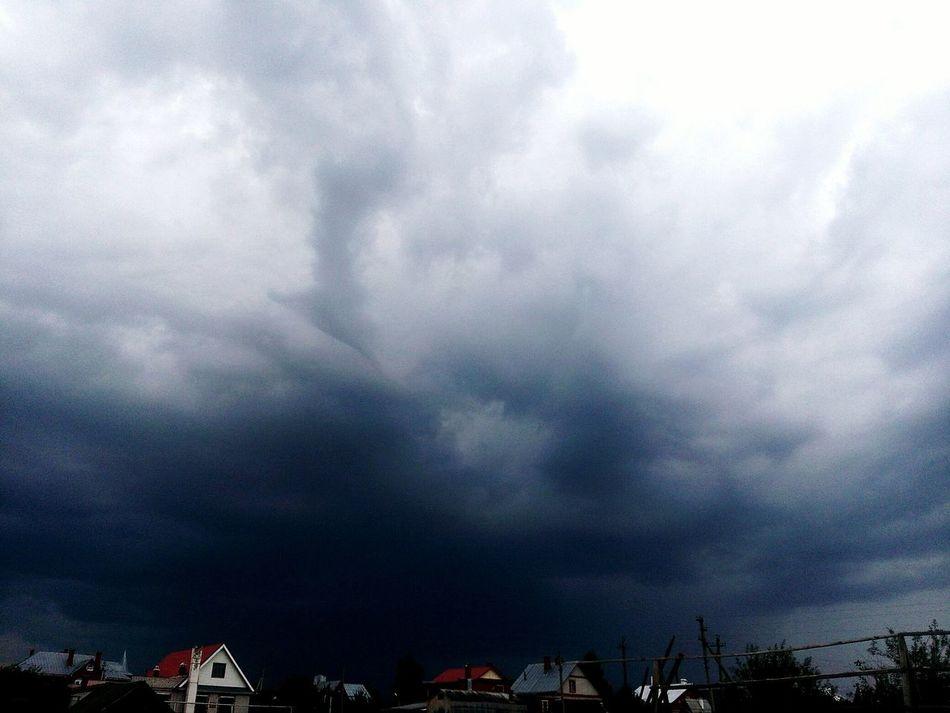 небо Природа тучи и облака тучи гроза и молния гроза гроза_надвигается...