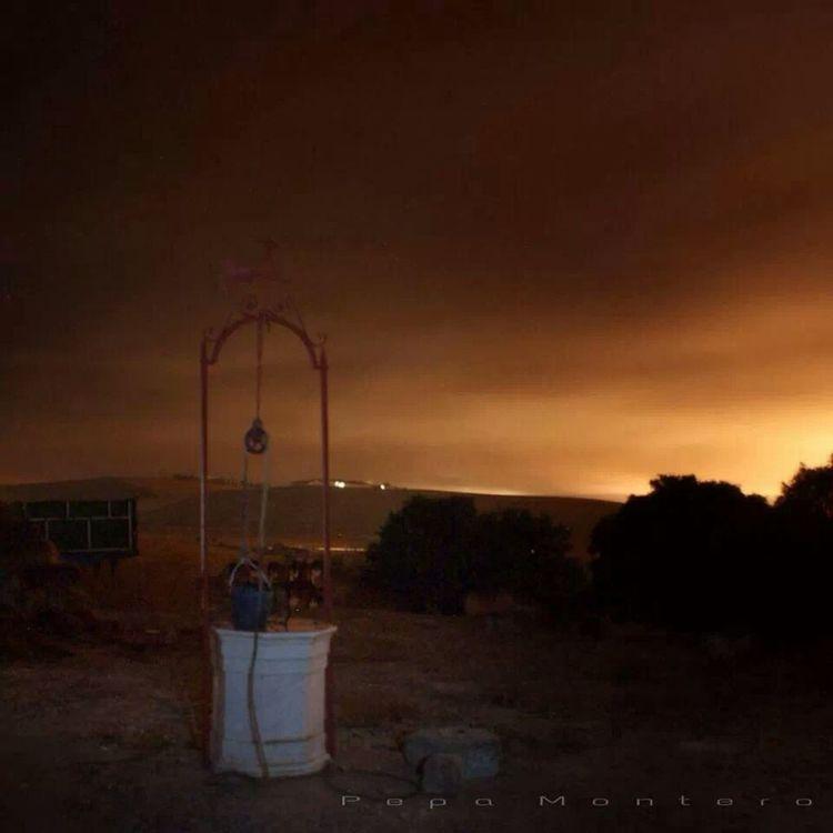 Entre Jerez y Trebujena Fotografía Nocturna Longexposure