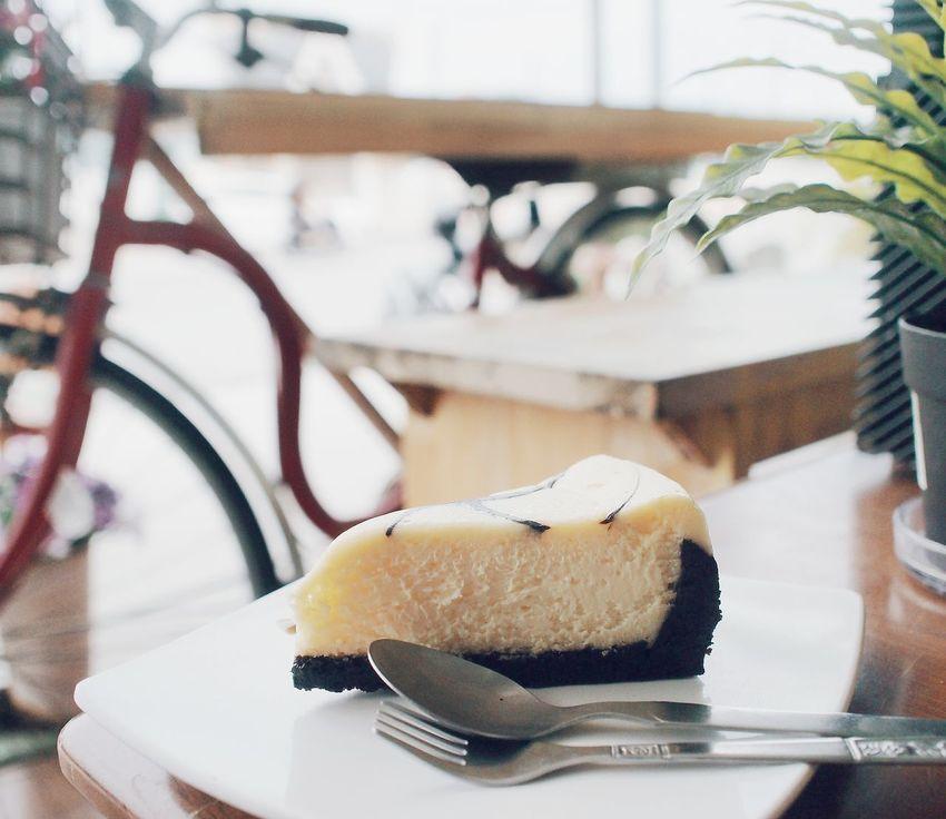 Cheesecake Cake Cafe Time Beach Bangsean Thailand Winter