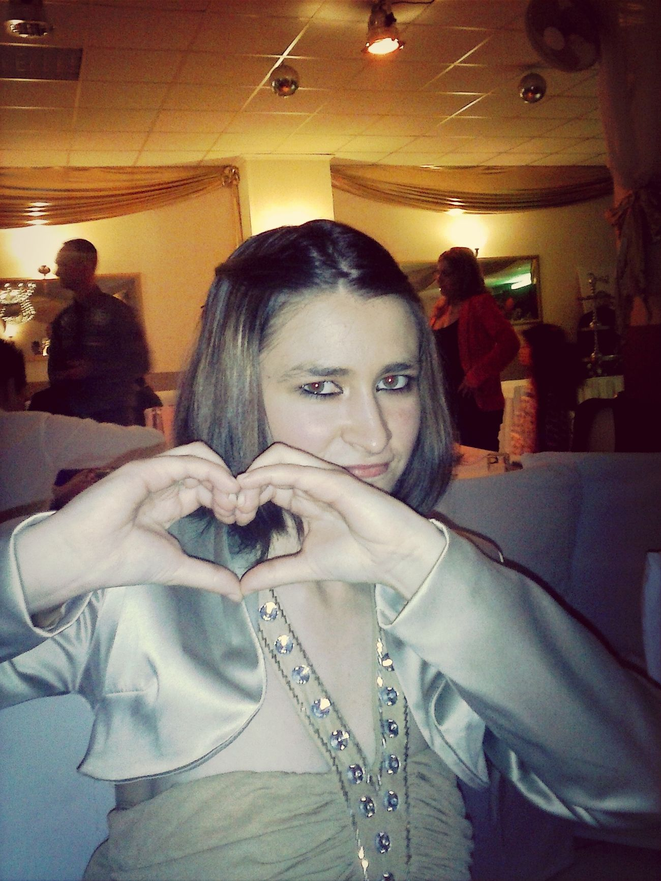 I from yesterday on the wedding day. :) Wedding Party Wonderful :)  So Sweet ♥ Wefoundlove