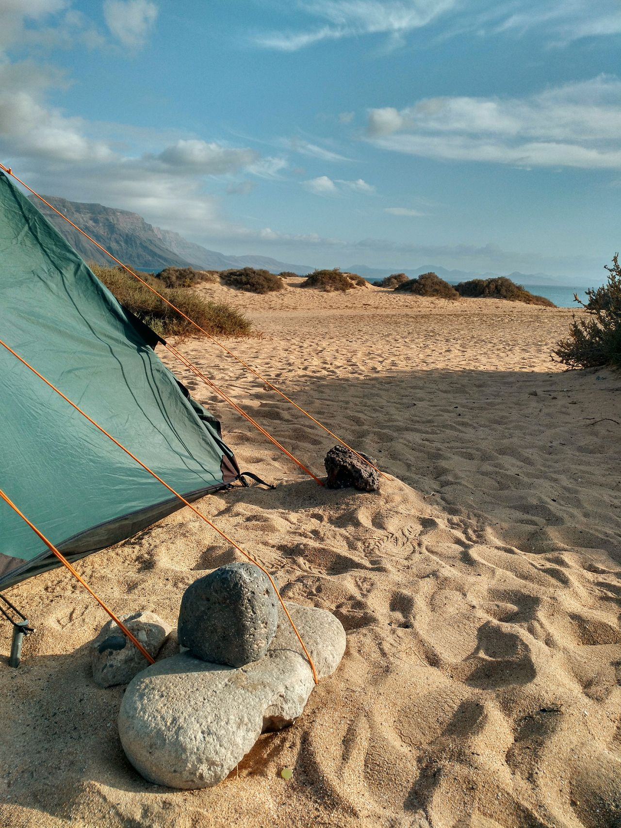 Camping Mai 2017⛺🏜🌋 Caleta Del Sebo Campsite Campinglife Outdoor Outside Canarias Canary Islands Lanzarote La Graciosa Rock Rocks Wind Adventure Sand Sand Dune Tentview Ocean View Hiking Landscape Nature Camping Moments Vulcano Island SPAIN Power Live For The Story The Great Outdoors - 2017 EyeEm Awards