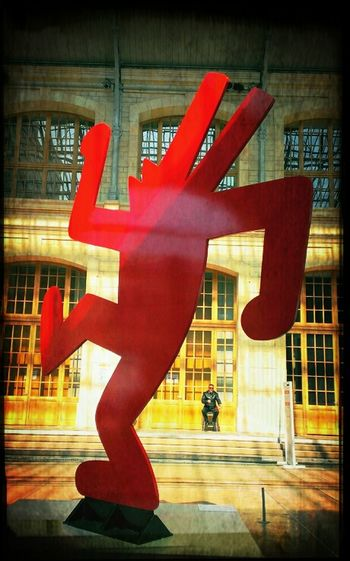 Colors 104 Sculpture Keith Haring