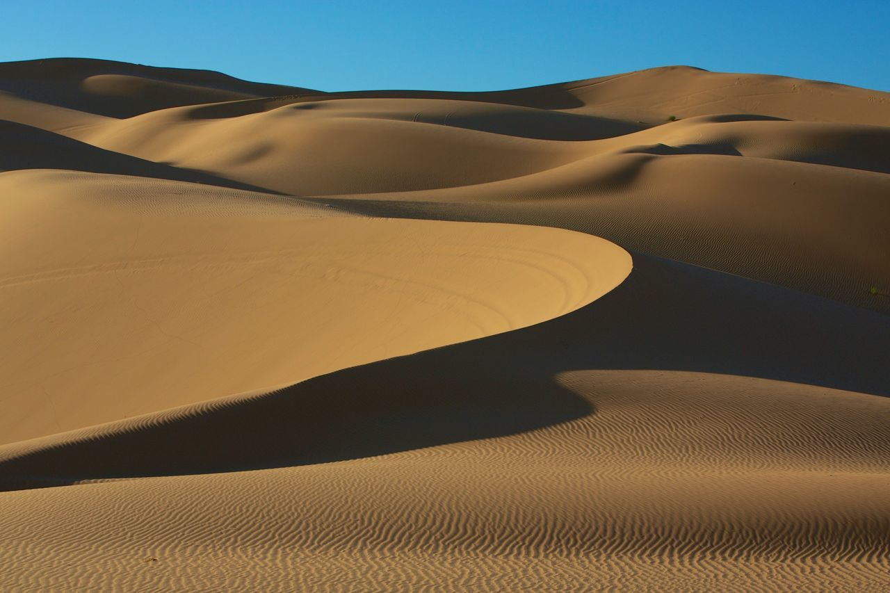 Beautiful stock photos of sand, Beauty In Nature, Clear Sky, Day, Desert