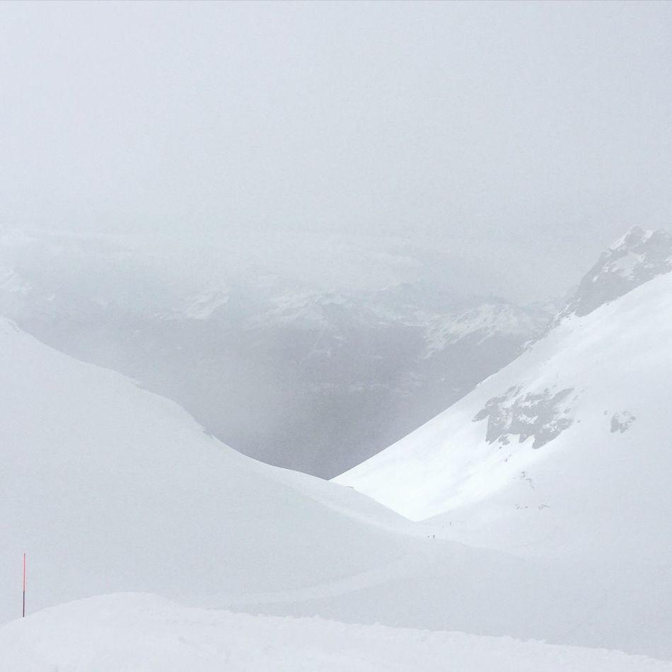 White Landscape White Land, Behind The Sun Valais Minimalism Minimal Snow Minimalobsession Minimalist Snow Groomer