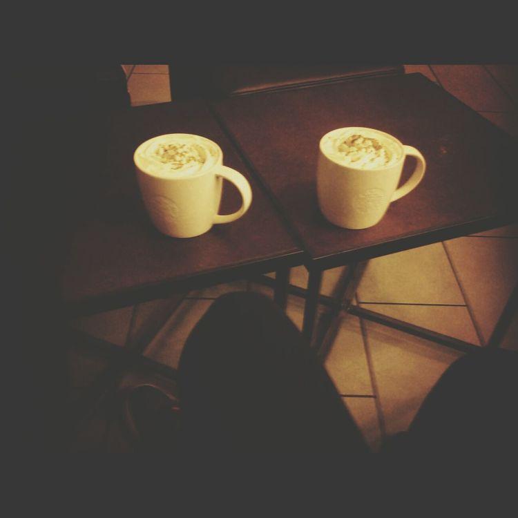 Starbucks With Basia Friends