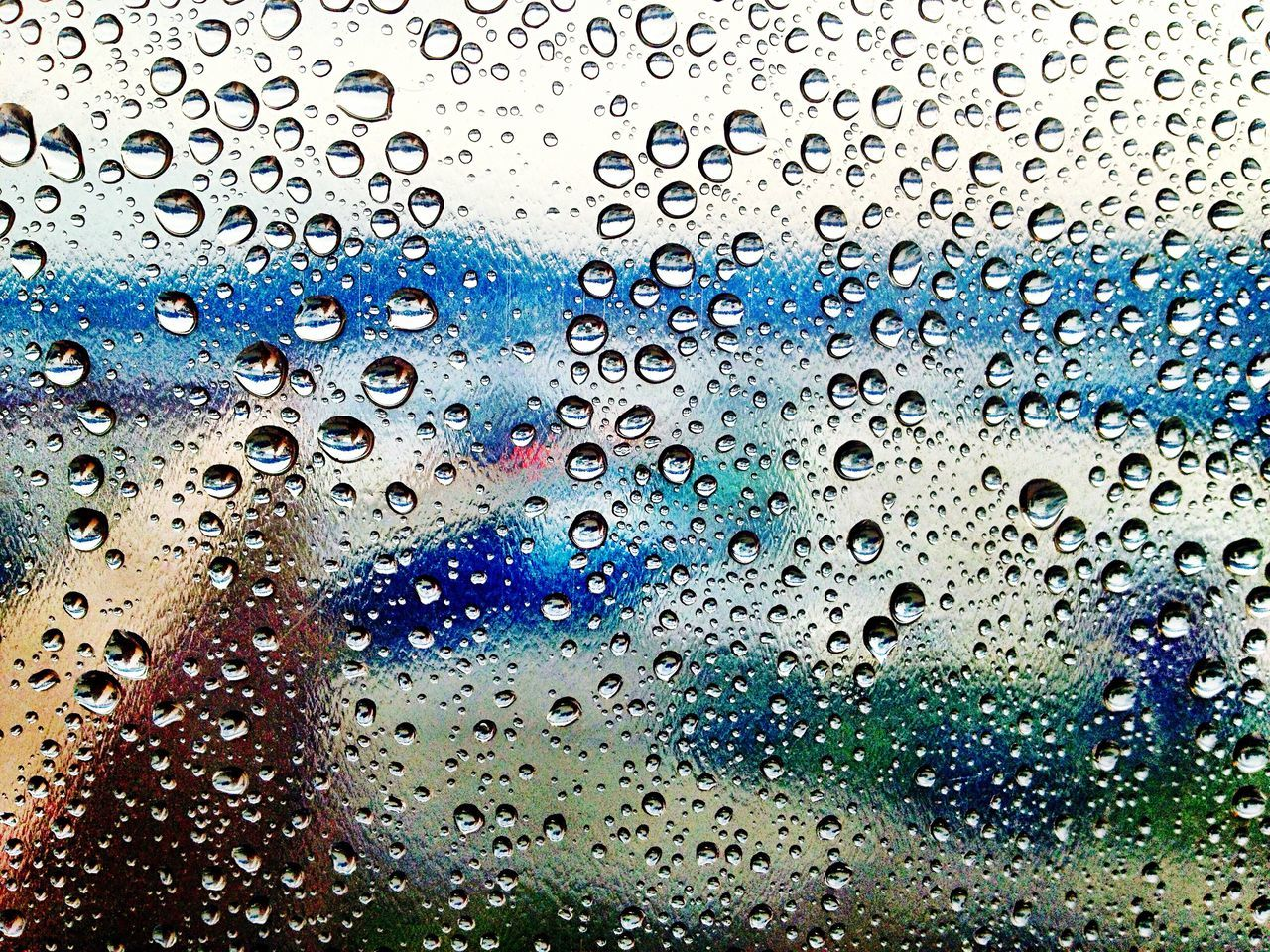Rain Drop Close-up Window No People Water Backgrounds Full Frame Wet Nature Sky RainDrop Day Outdoors