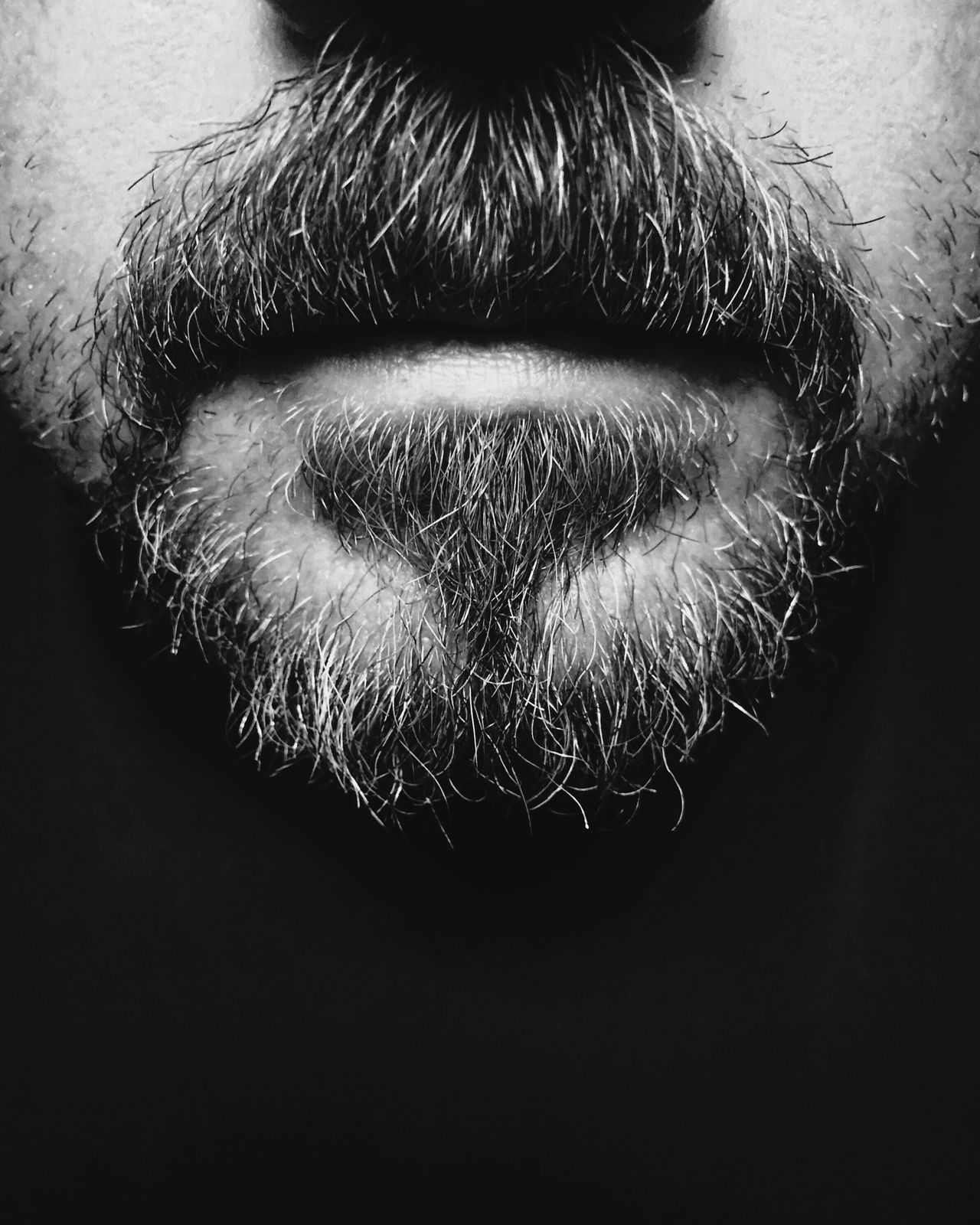 Thought I'd get the ball rolling with a Self Portrait edited using Black App Black & White Black And White Iphone 6 IPhoneography First Eyeem Photo Mouth Beard Portrait
