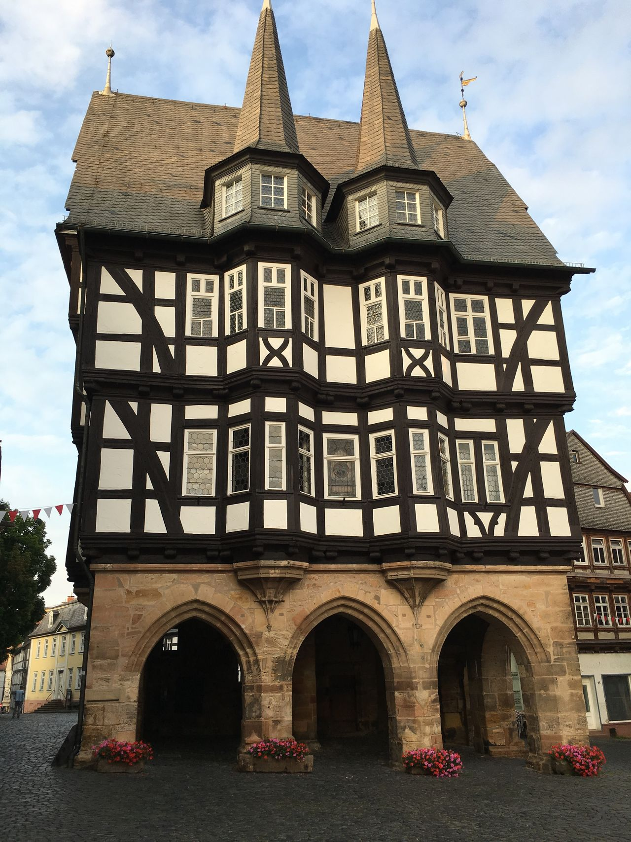 Alsfeld Courthouse Half Timbered Architecture Germany