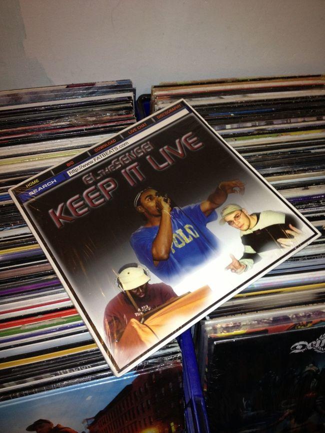 El Da Sensi - Keep It Live Vinyl Underground Hip Hop Vinyladdict Vinyljunkie