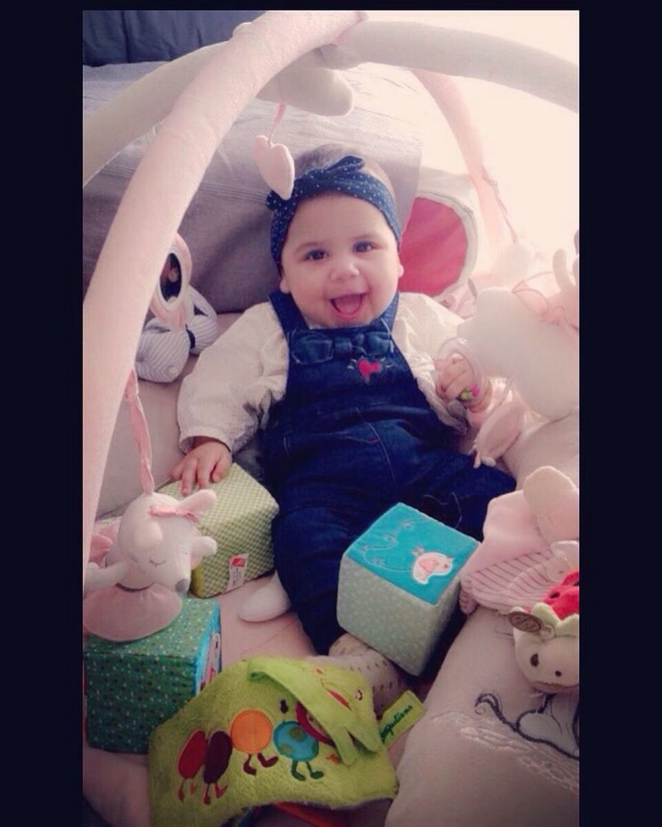 1.11.2016 = First day of my hapiness !! ❤️ Hello World My Daughter ♥ Love ♥ Baby Real People Cute Babyhood Innocence Childhood New Life Lifestyles Indoors  One Person Looking At Camera Portrait Bed Newborn Pacifier Babies Only Day People