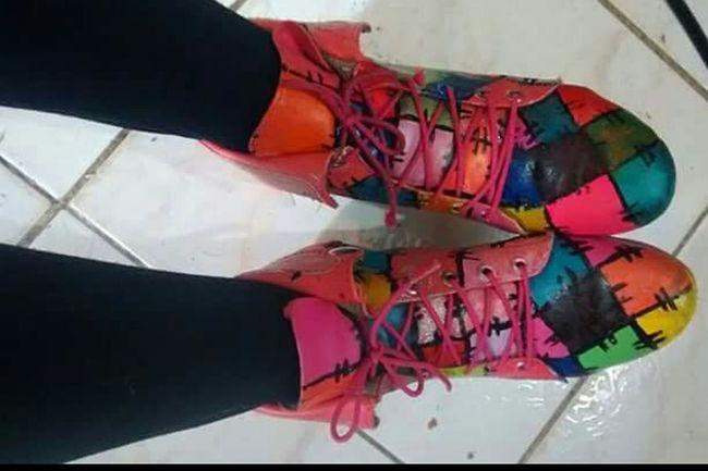 Zapatos Modificados Personalizados Colores