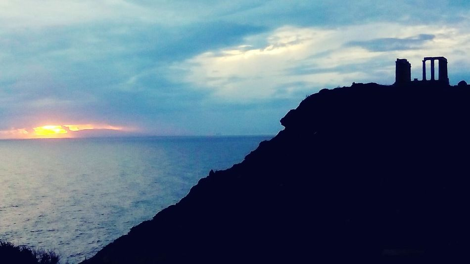 Sunset_collection Greece Greek Mythology Poseidon Capesounion Sounio Theseus